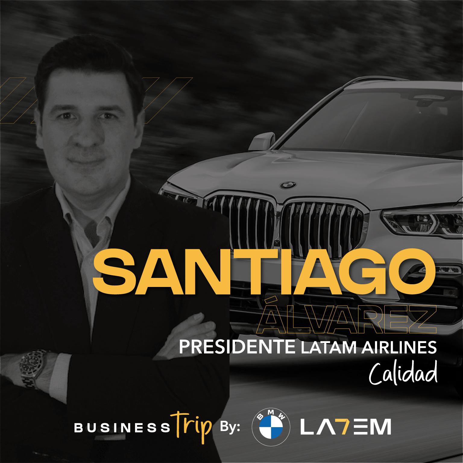 Santiago Álvarez, Presidente de LATAM Airlines
