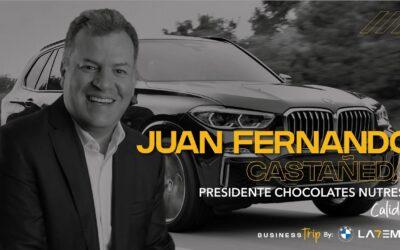 Business Trip: Juan Fernando Castañeda Presidente Negocio Chocolates Grupo Nutresa