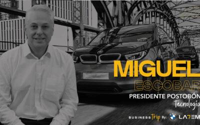 Miguel Escobar – Podcast, Presidente de Postobon