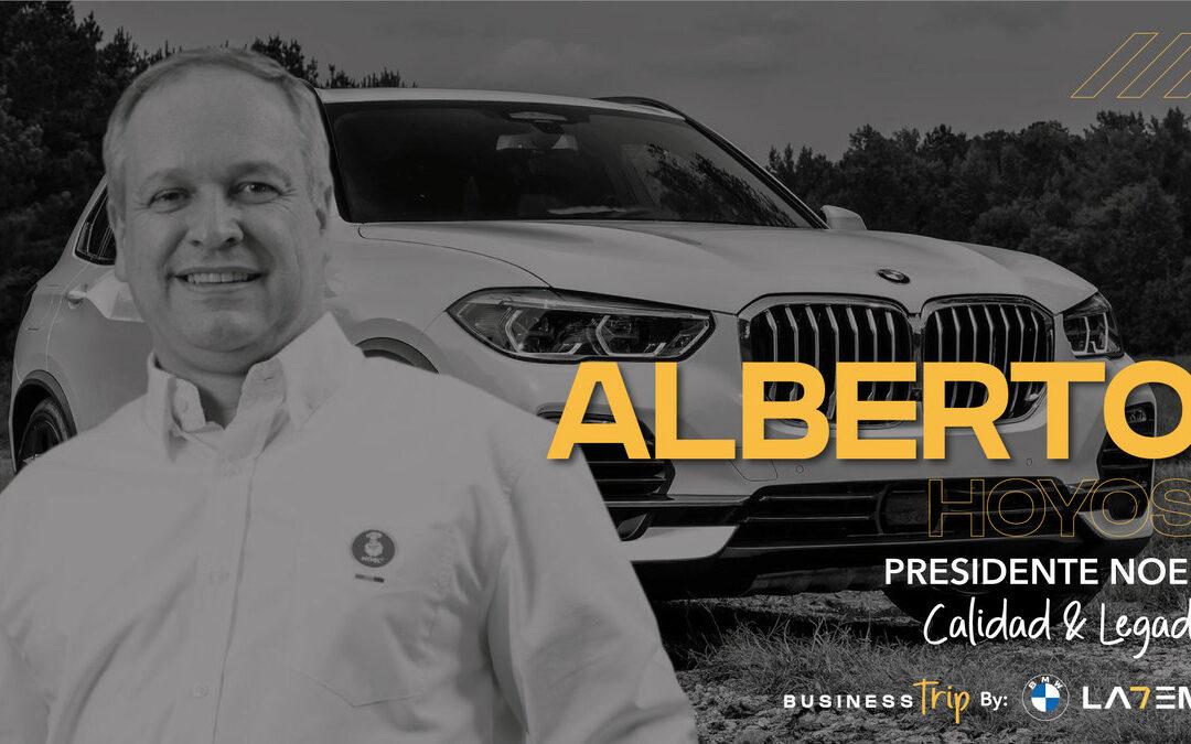 Business Trip: Alberto Hoyos Lopera, Presidente de Negocio Galletas NOEL